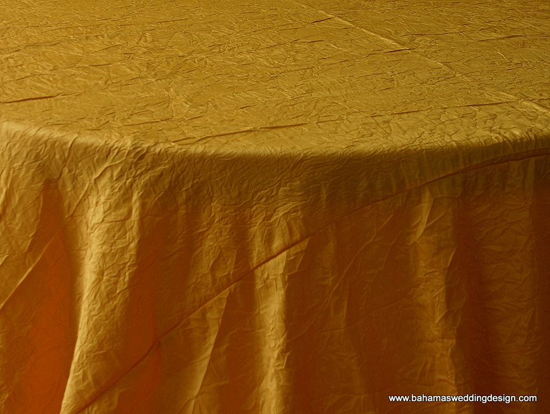 Crushed Taffeta - Bright Yellow