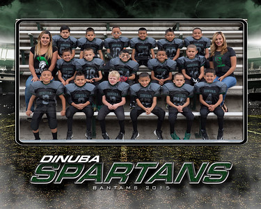 spartans bantams with team moms
