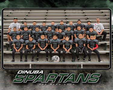 spartans pee wees team