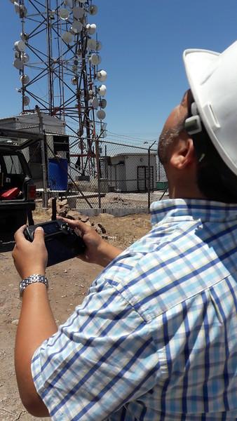 Repairs at Cerra Colorado CREBC site, TJ