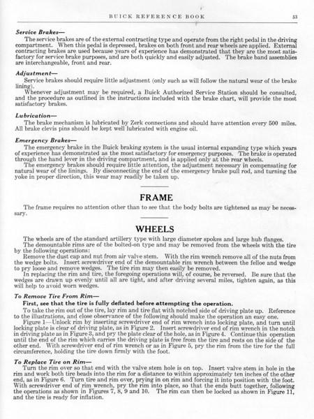 Brake Adjustment / Repair Info (Reference Manual)