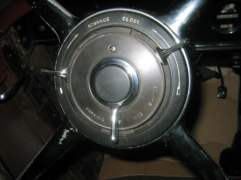 Master Steering Wheel Center