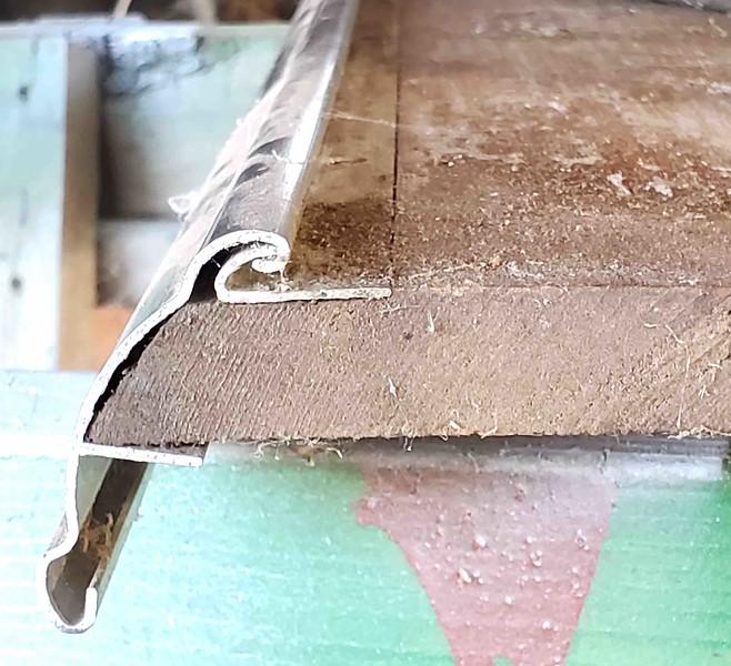 Running Board Moulding - Cross Section w/ Running Board Wood