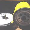 Reproduction Oil Filter (Bob's Automobilia) with Pennzoil-PZ-45 filter.