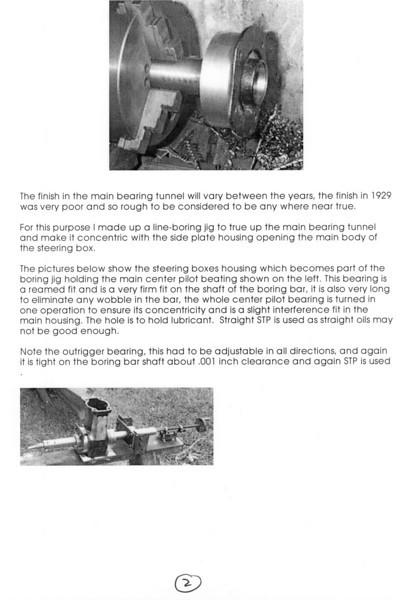 Steering Box Reconditioning (by Vaughn Gunthorp) - Pg. 2