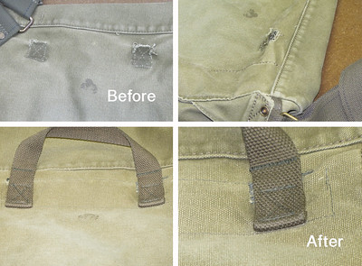 Canvas Bag Repair