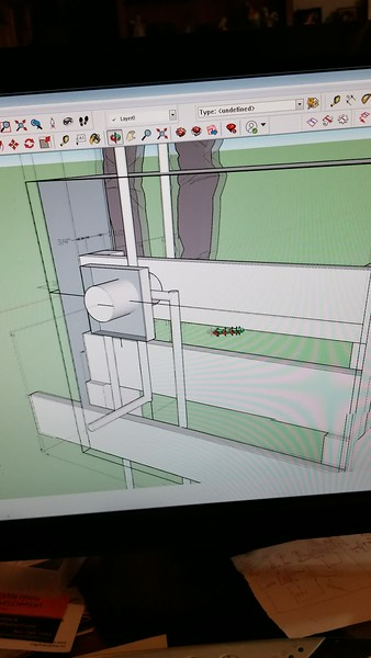 VIDEO.. here is the 3D design using the dimensions of the valve, spout, and existing space to get it all tied together
