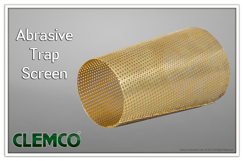 Abrasive Trap Screen