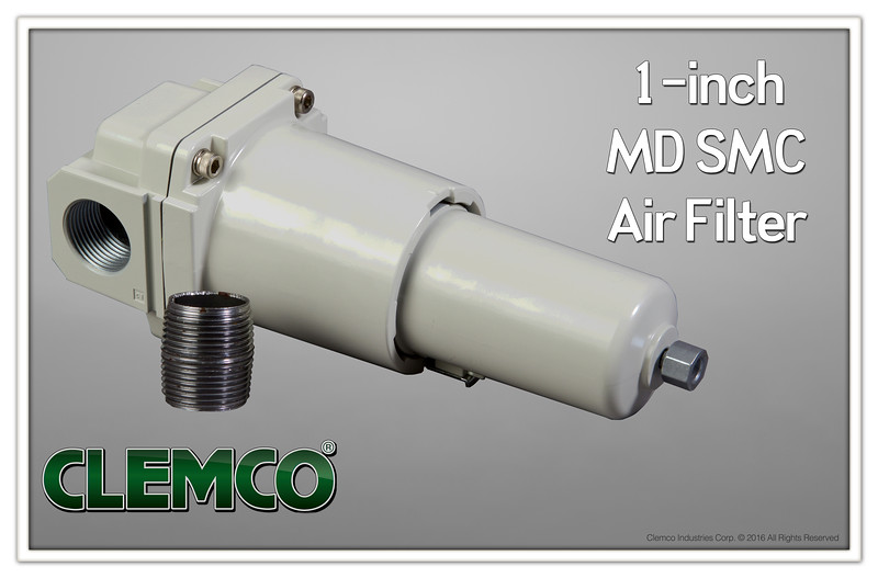 "1"" MD SMC Air Filter"