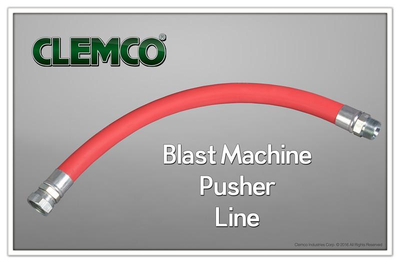 Blast Machine Pusher Line