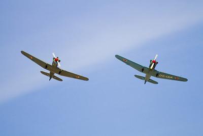 2 x Yak-18 (Belgie)