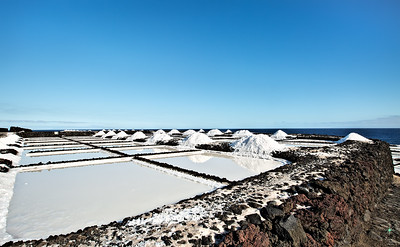Desert of salt, La Palma Island