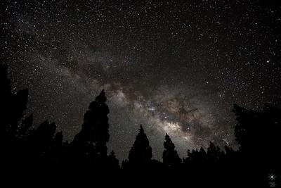 Milky Way 4, La Palma Island