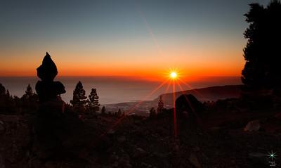 Sunset, La Palma