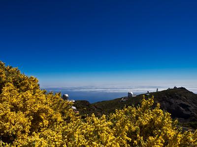 Telescopes, La Palma Island