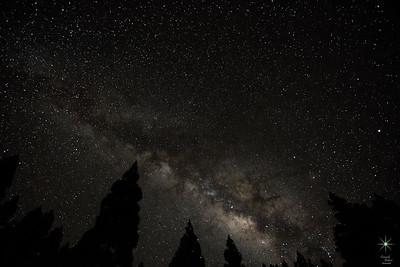 Milky Way 7, La Palma Island