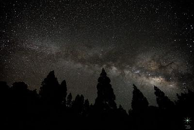 Milky Way 6, La Palma Island