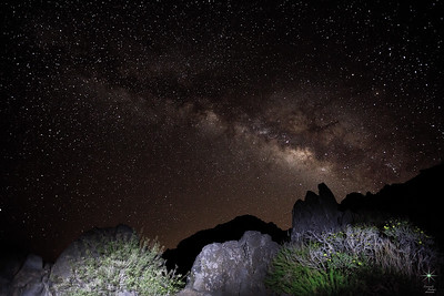Milky Way 1, La Palma Island