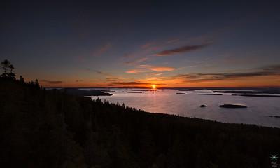 Sunrise from PahaKoli 2, Finland