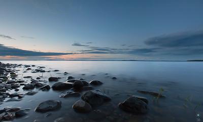 Pielinen 1 sunset, Finland.
