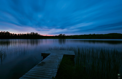 Savonranta, cloudy. Finland