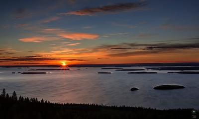 Sunrise from Pahakoli, Finland