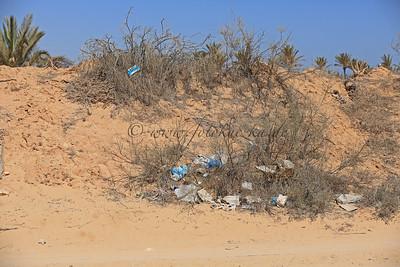 Reiturlaub auf Djerba/Tunesien Auch das ist Djerba. Abseits der Touristen eine riesige Müllhalde.