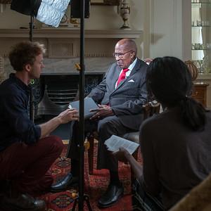 BBC Newsnight - Reading 'Invictus'