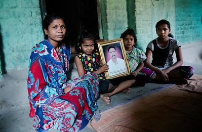 Savita Jitender Dharni, 38, village -Jwada