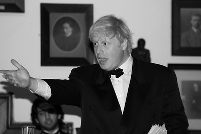 Boris Johnson MP, now Mayor of London