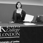 Cherie Blair at Kings College, London
