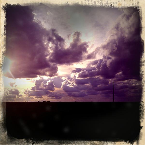 Gratuitous sky picture