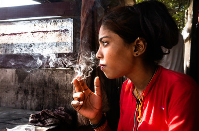 Raavi, a drug-injecting (IDU) user for almost 7 years