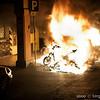 7/6/09 4:35 Via del Borgo di San Pietro 23<br /> <br /> Forte incendio che coinvolge diversi motocicli, una auto e gli edifici circostanti