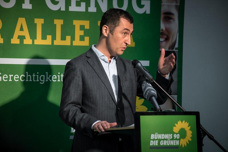 """Cem Özdemir auf dem Gerechtigkeitskongress """"Es ist genug für alle da"""" von Bündnis 90 Die Grünen, FORUM Factory, Berlin, 17. Juni 2016"""
