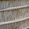 Zaun aus geflochtenem Gras, Golden Gate, Nationalpark, Drakensberge, Südafrika, South Africa, Basotho Cultural Village, Golden Gate National Park, nördliche Drakensberge, Free State, Südafrika
