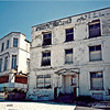 Margate - two derelict hotels on the seafront.