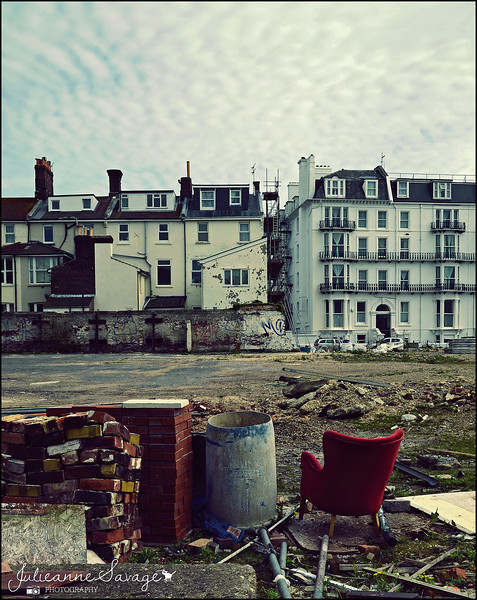 Harry Redknapp's burnt down seafront nightclub