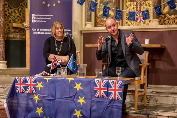 Ian Dunt & Celia Brayfield