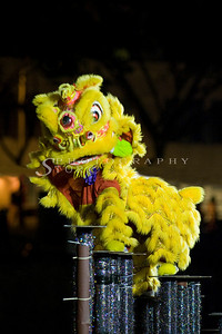 International Lion Dance Competition in Singapore