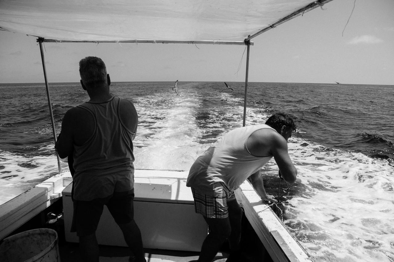 pulizia della barca