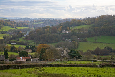 Winsley Hill from Brassknocker Hill
