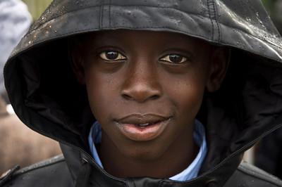 African Refugee.