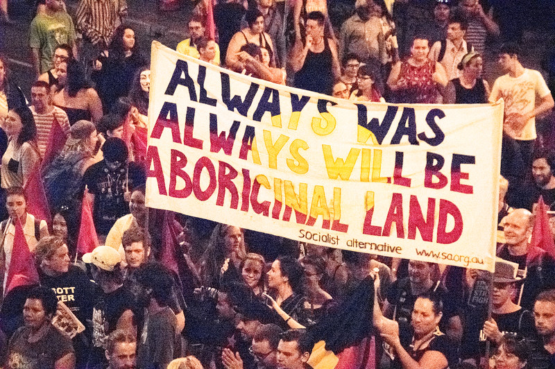 Brisbane says no to the forced closure of Aboriginal communities, protest 27.3.15