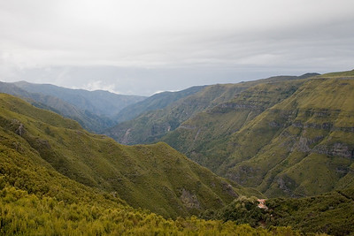 From the heights of western Madeira