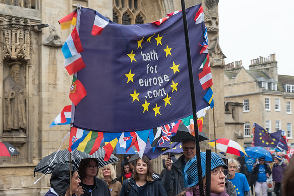 Pulse of Europe Meeting and March