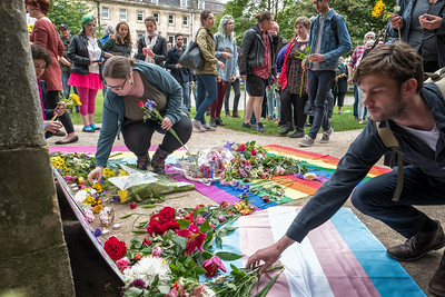 Rainbow Vigil, Queen Square