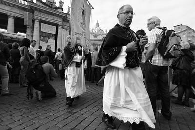 Reportage - San Pietro, Roma 2010. Foto di Marco Salvadori