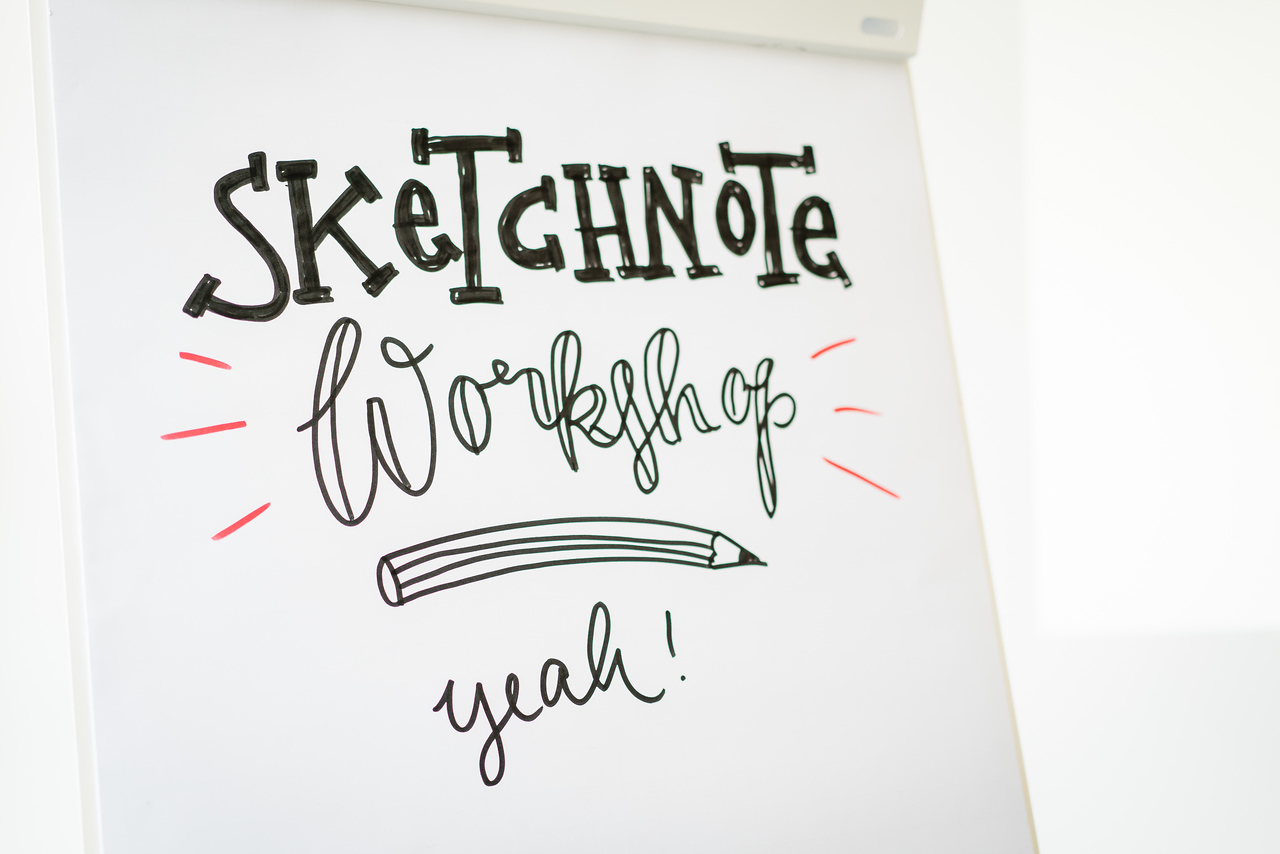 Sketchnote Workshop von Nadine Roßa, 28. Mai 2016, Berlin