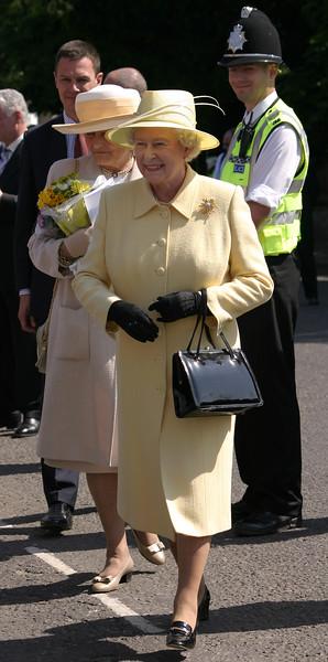 HRH Queen Elizabeth II, visit to Cambridge, June 2005
